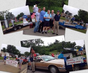 First place entry in 4th of July Parade